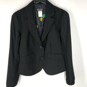 Sonia Rykiel Womens Blazer Sz M L/S Career Jacket